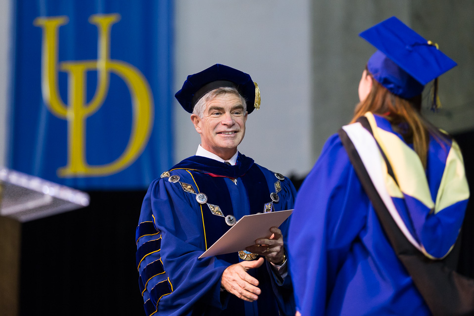 UD 2014 Winter Commencement