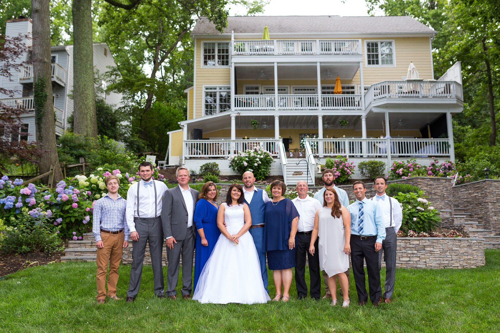 Vacation House Wedding