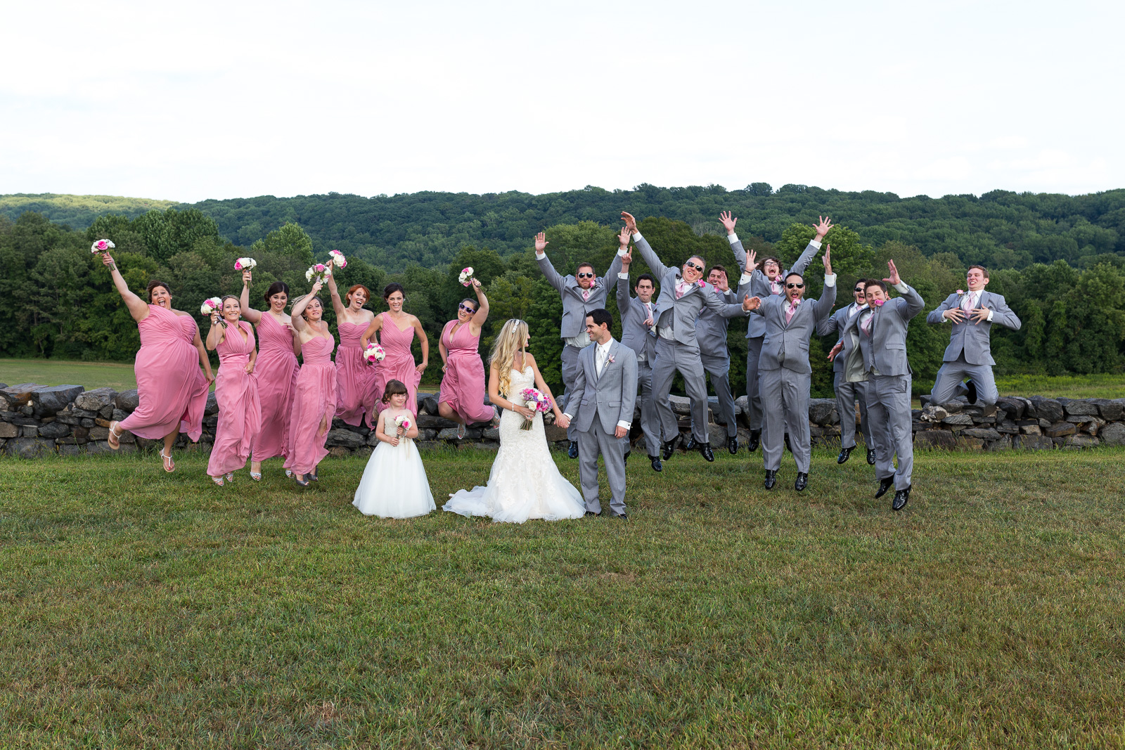 Bridal Party at Brandywine Creek State Park