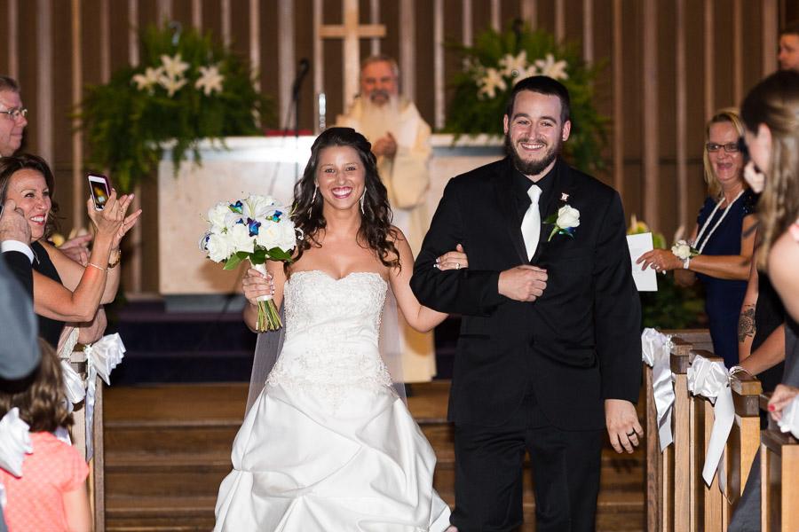 Wedding Ceremony at Haebler Memorial Chapel